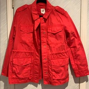 NWT Gap jacket red size med